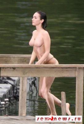 Меган Фокс разделась на съемках триллера (фото)