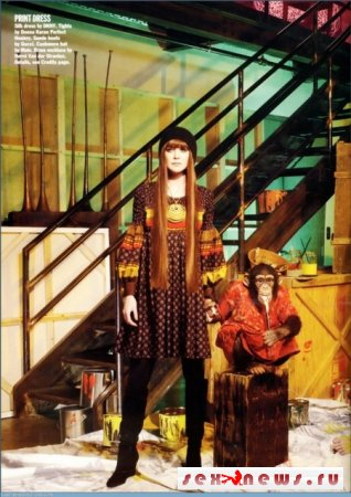 Эллен Помпео в журнале Alluer (фото)