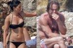 Микки Рурк с любовницей на пляже