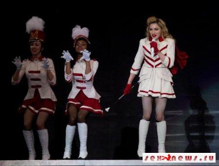 У Мадонны украли нижнее белье