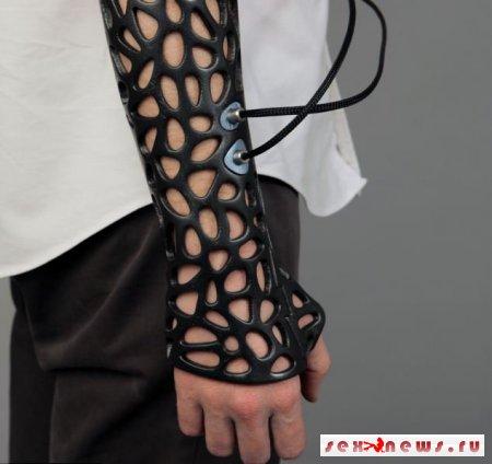 3D-повязка придет на смену неудобному гипсу