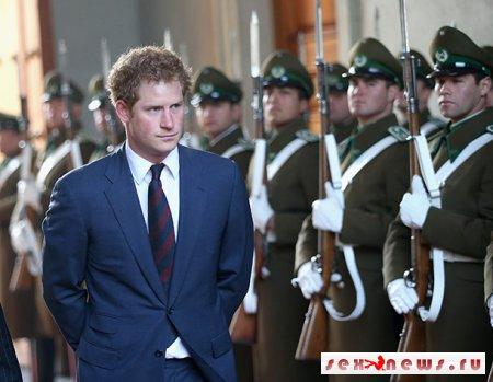 Принц Гарри согласился жениться на чилийской незнакомке
