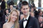Новак Джокович и Елена Ристич снялись в свадебных нарядах для журнала «Hell ...
