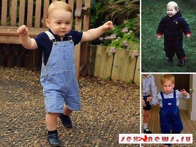 Герцог и герцогиня Кембриджские опубликовали фотографию юного принца