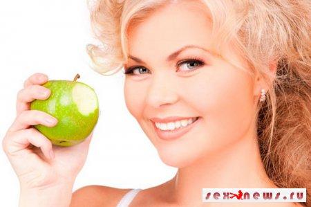 Яблоки стимулируют у женщин сексуальное желание