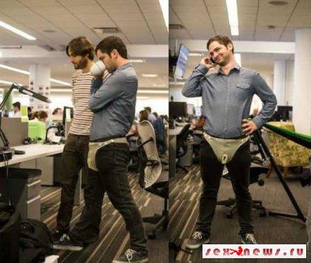 Мужчинам предложили предохраняться с помощью латексных подгузников