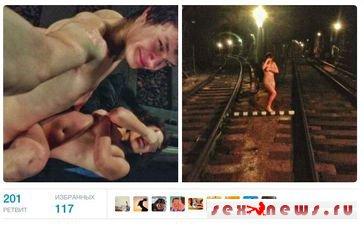 Молодая пара занялась сексом в тоннеле московского метро