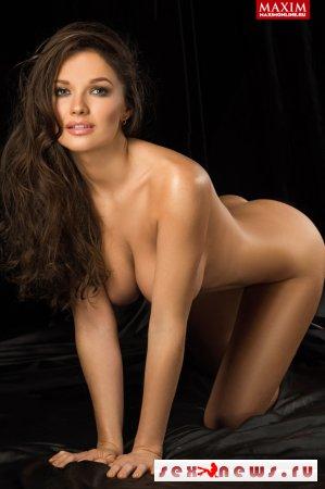 Питерская красавица Анна Пугачева: «Раздеться для MAXIM — это одно, а ходить голой на телеэкране — не для меня»