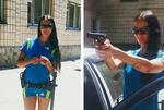 Самая сексуальная девушка-полицейский Украины разбудила интернет