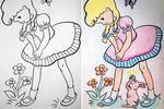 Когда детская раскраска попадает в руки взрослого