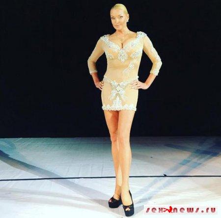 Анастасия Волочкова шокировала неординарным нарядом