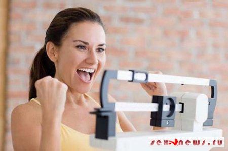 Секс способствует похудению