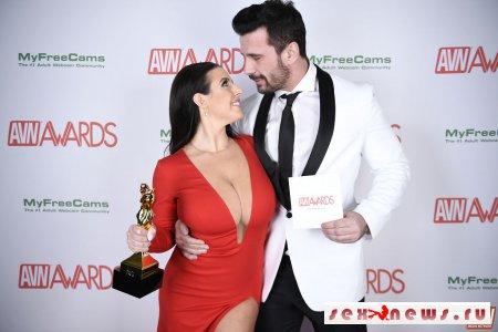 Фоторепортаж с церемонии премии порно Оскара 2018