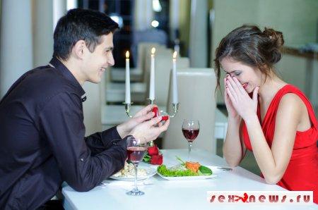 Каким оригинальным образом предложить руку и сердце любимой женщине?
