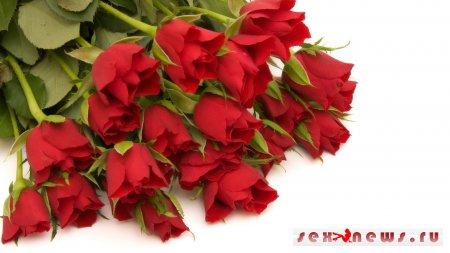 Одаривайте дам цветами