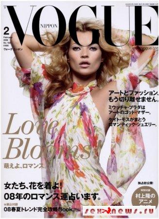 Японский Vogue раздел Кейт Мосс (фото)