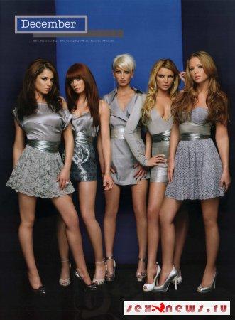 Girls Aloud - Официальный календарь 2008!