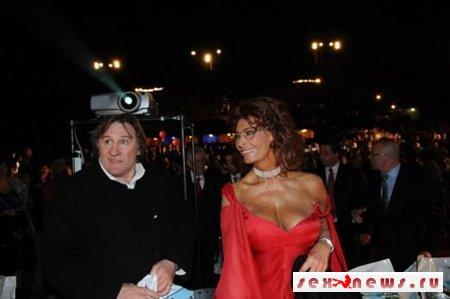 Софи Лорен соблазнила Депардье (фото)