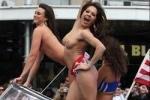 В Новой Зеландии порнозвезды устроили топлес-парад