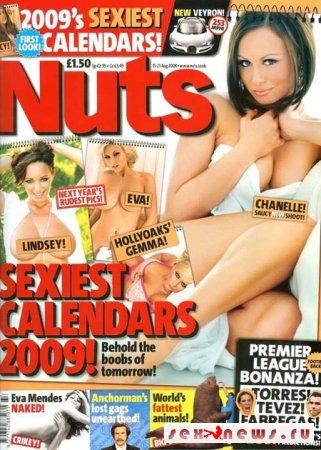 """Журнал """"Nuts"""" составил календарь """"голых тел"""""""