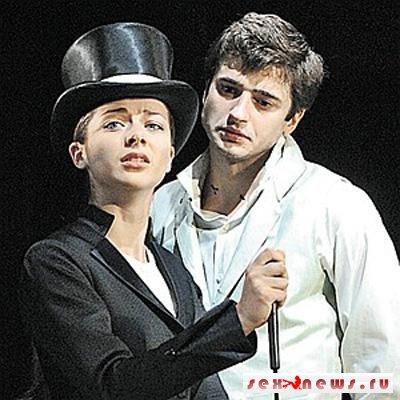 Роман Александровой и Стебунова начался на театральной сцене.