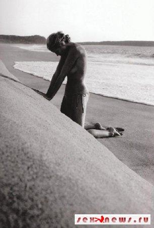 Хайди Клум подчеркнула свою эротичность грязью