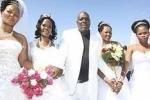 Житель ЮАР женился на 4 женщинах одновременно