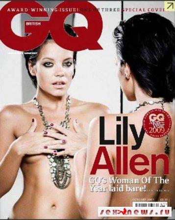 """Лили Аллен снялась топлесс для журнала """"GQ"""""""