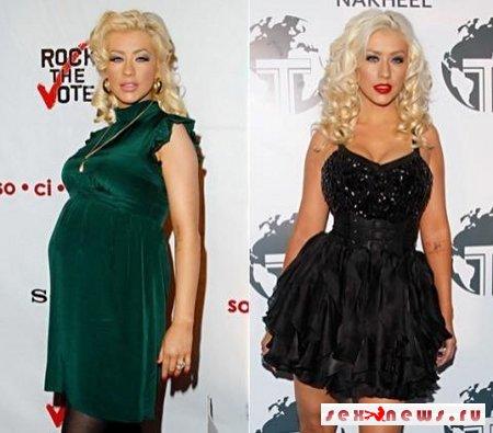 Голливудские звезды до и после родов