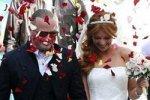 Подольская упала на собственной свадьбе