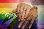 В Киеве был совершен обряд венчания однополой пары