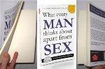 Книга «О чем все мужчины думают помимо секса» стала сенсацией