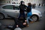 Националисты избили протестующих геев и лесбиянок в Петербурге