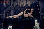 Звезда «Универа» разделась для вампирской фотосессии Maxim