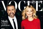 Кейт Мосс и Джордж Майкл в Vogue Франция
