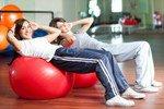 Девушки испытывают оргазм от физических упражнений