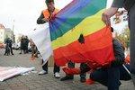 В столице хотели провести мероприятие в защиту прав секс-меньшинств