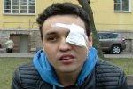 Петербургский ЛГБТ-активист, потерявший один глаз, намеревается найти убежище в США