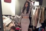 Ким Кардашян снова применила фотошоп для своего селфи
