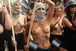 Голые израильтянки устроили акцию протеста