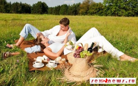 Каким образом сделать обстановку комфортной и романтичной на природе, не тратя на это большого количества времени?